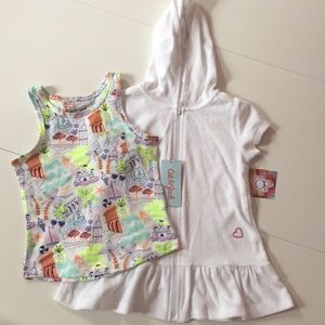 Other - NWT ☀️ Summer Lovin' ☀️ Tank and Cover-Up Bundle